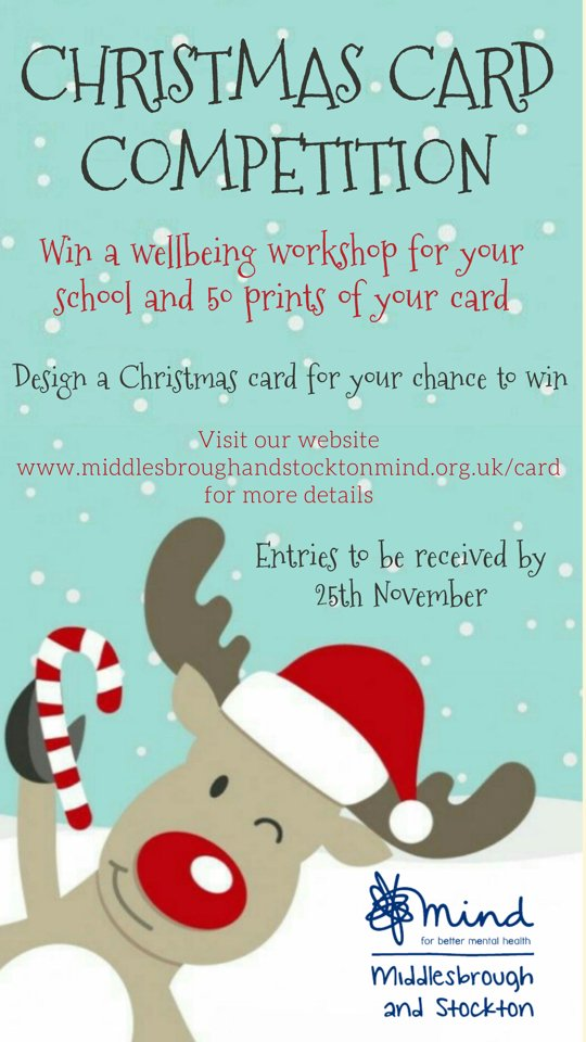 Christmas Card Competition Middlesbrough And Stockton Mind